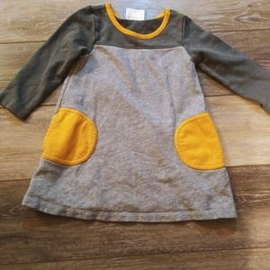 Hanna Andersson knit top with pockets